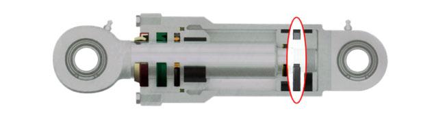 Hydraulic cylinder piston seal