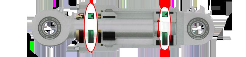 Hydraulic Cylinder SYMM U- CUP