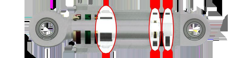 Hydraulic Cylinder Wear Rings
