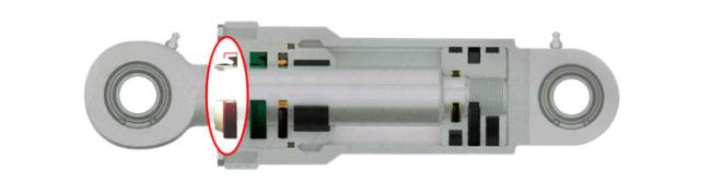 Hydraulic cylinder wiper