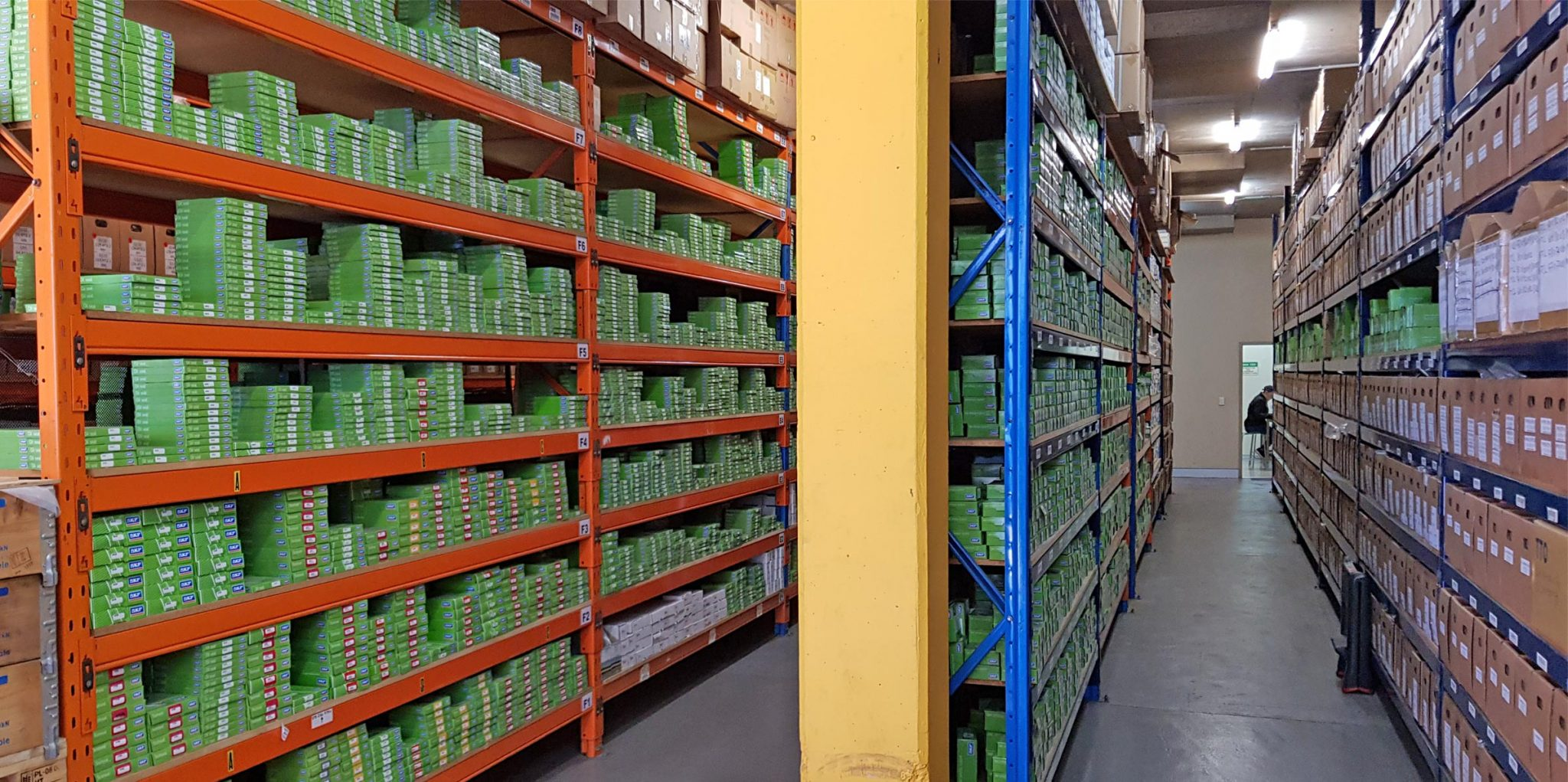 Our warehouse with a vast number of products available for shipping