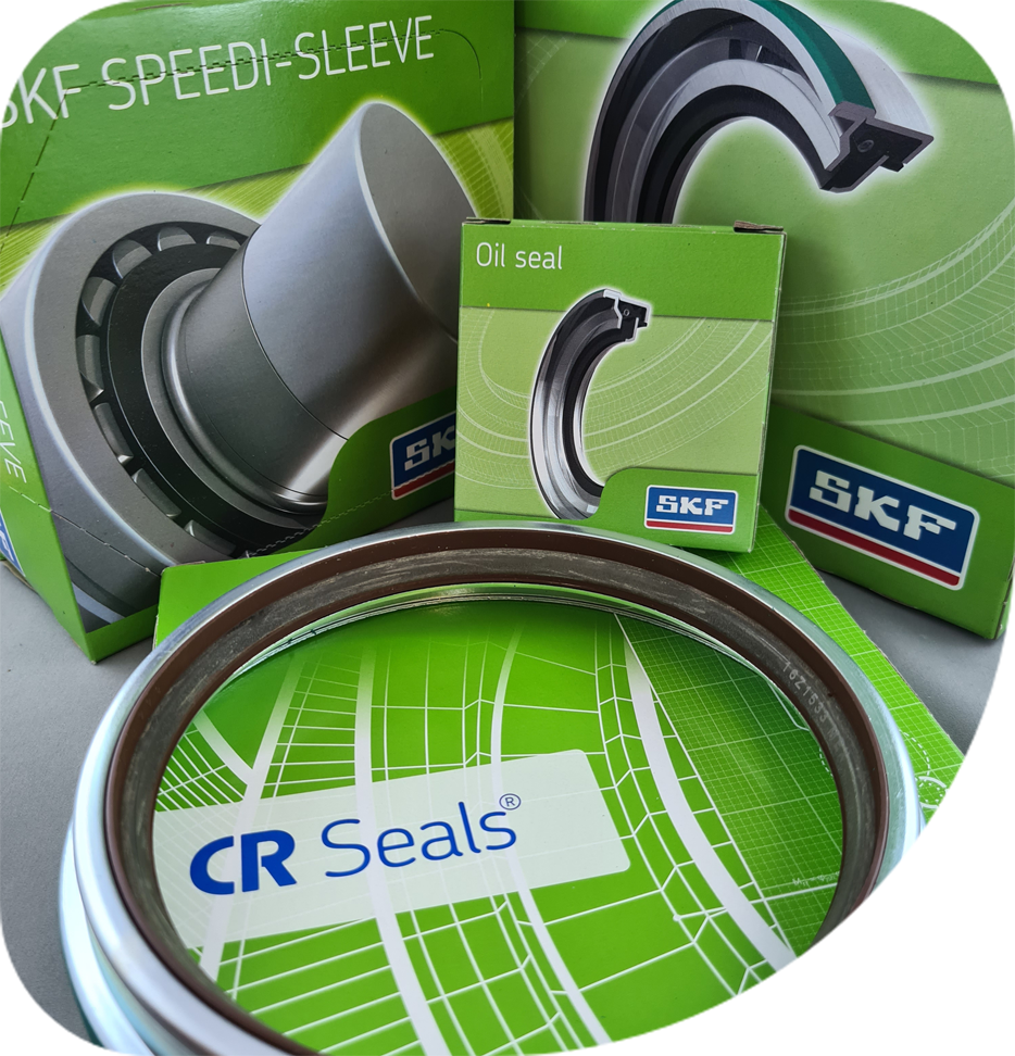 A large range of seals and related products in stock